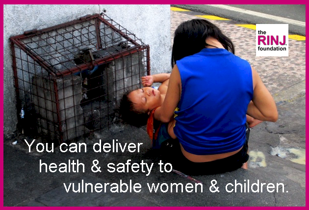 Be a warrior. Fight for the safety of women and children.