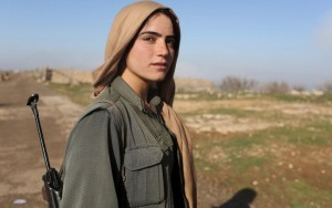 Sinjar Protection Units, or YBŞ, the Yazidis—both male and female—have sworn to defend their homeland and to avenge ISIS's rampage