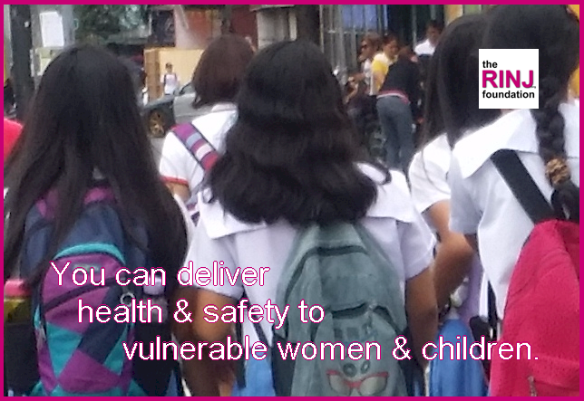 Be a warrior. Deliver safety to vulnerable women.