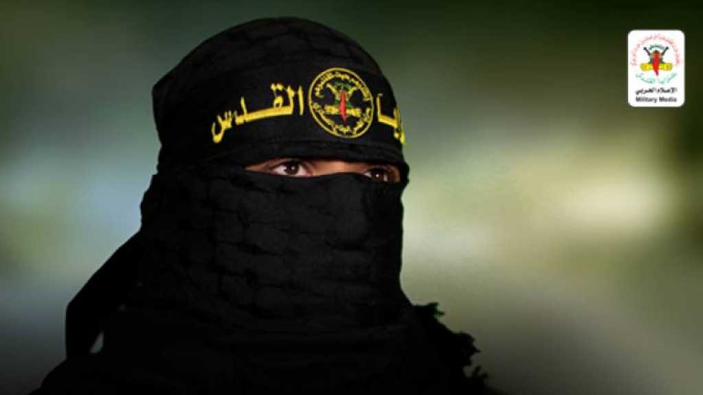 Abu Hamza, the military spokesman of the Iran-backed Al-Quds Brigades, the armed wing of the Islamic Jihad Movement in Palestine