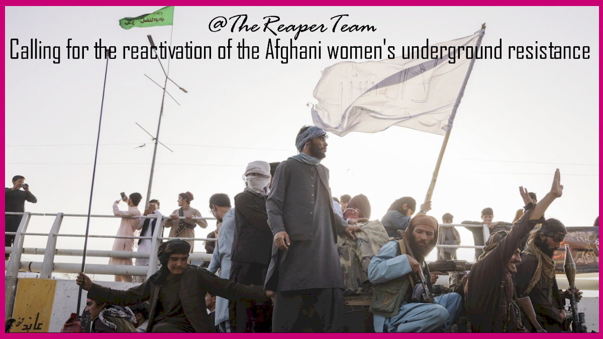 Mothers and other women must fight back against these Taliban bastards